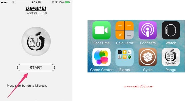 Cara Jailbreak iOS 8