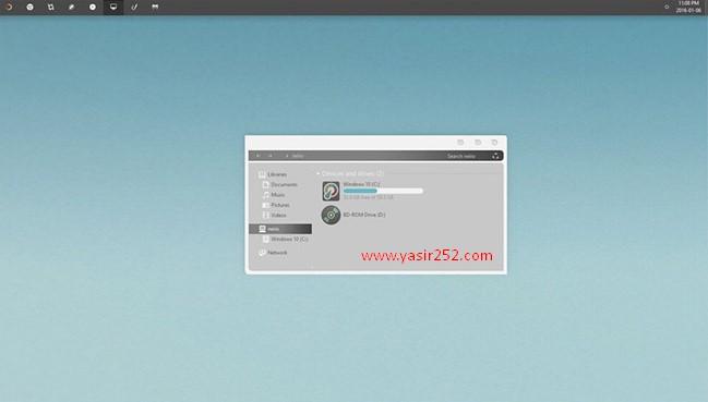 Cara mengubah tampilan windows 10 dengan tema unity keren