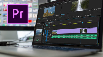Cara menggabungkan video audio premiere pro