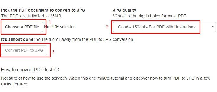 Cara Mengubah PDF ke JPG Online Gratis
