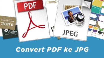 Cara Mengubah PDF ke JPG, Gambar Online Gratis