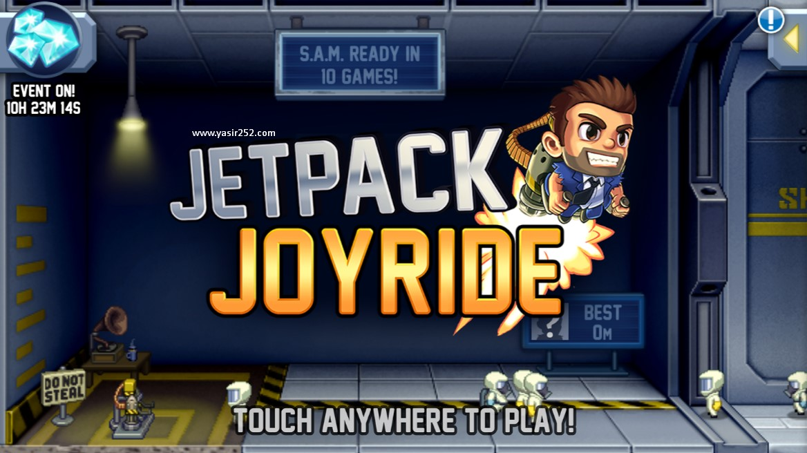 Download Gratis Jetpack Joyride iPad