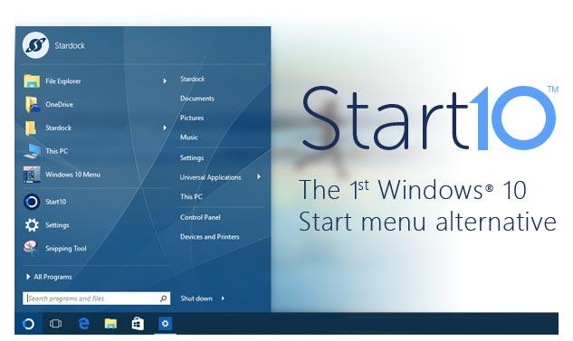 Mempercantik Windows 10 dengan Stardock Start10