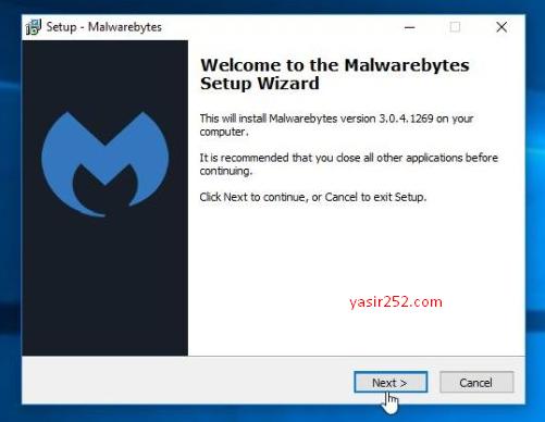 Menghapus malware di laptop dan pc