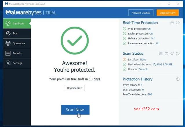 Antivirus Anti Malware untuk Laptop dan PC
