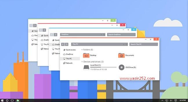 Cara Merubah Tema Windows 10 Flattastic Theme