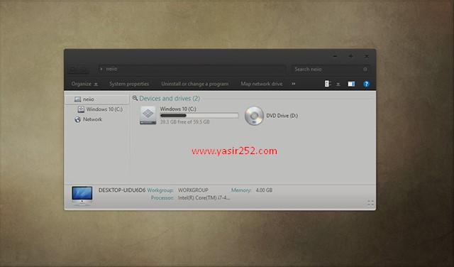 Cara Merubah Tema Windows 10 Slave Theme