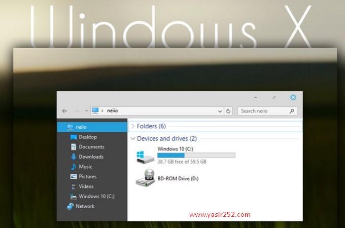 Cara Merubah Tema Windows 10 Windows X Theme