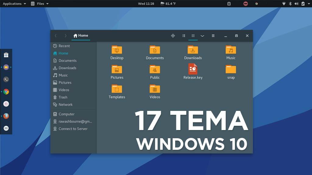 Kumpulan Tema Terbaik Windows 10