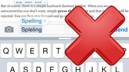 Cara Menonaktifkan Auto Spelling Correction di MacOSX