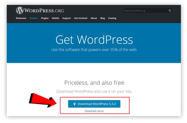 Cara Membuat Website WordPress Download File