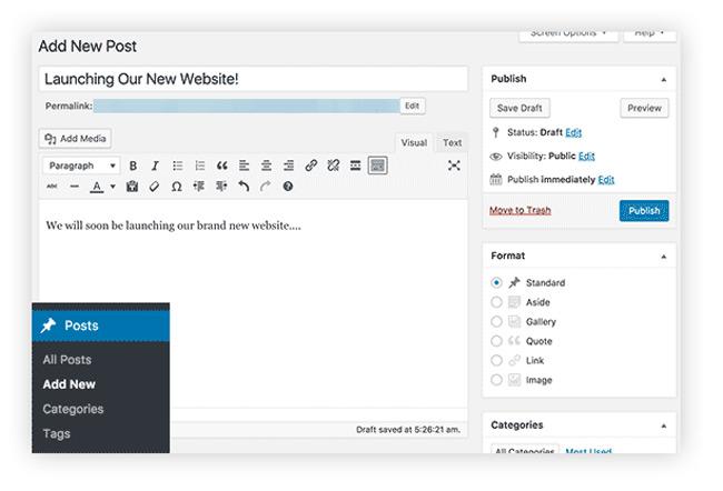 Cara Membuat Website WordPress Menulis Konten Artikel