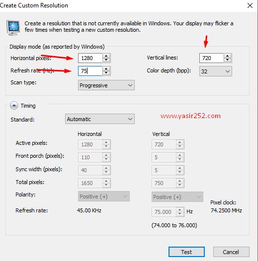 Cara Merubah Refresh Rate Monitor 75hz
