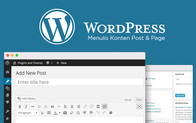 Menulis Post Page WordPress