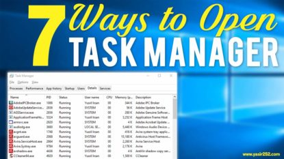 Cara Membuka Task Manager di Windows 10