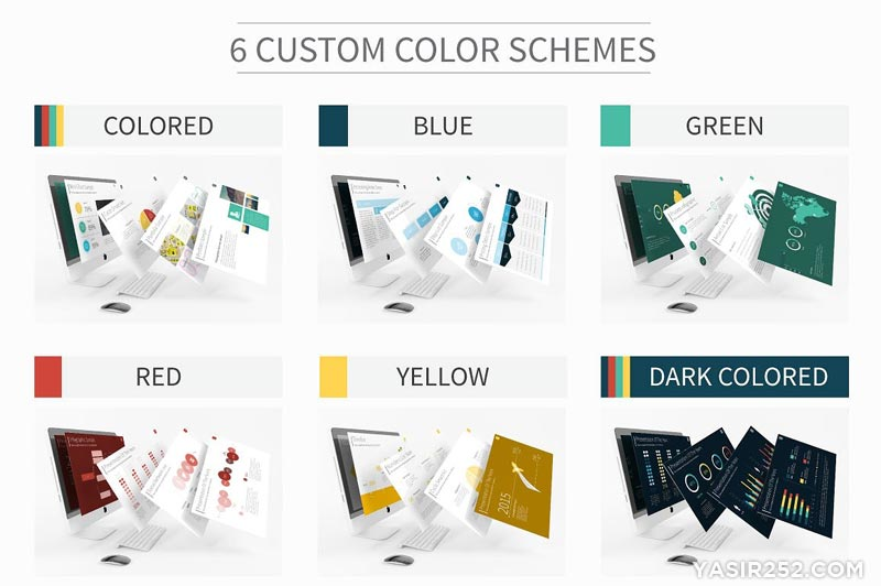 10 Template PowerPoint Gratis Keren (PPT Download) | YASIR252