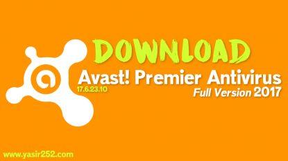 Avast Premier Antivirus 2017 Full Version