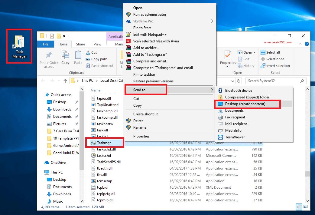 Cara Mengaktifkan Task Manager dengan Shortcut