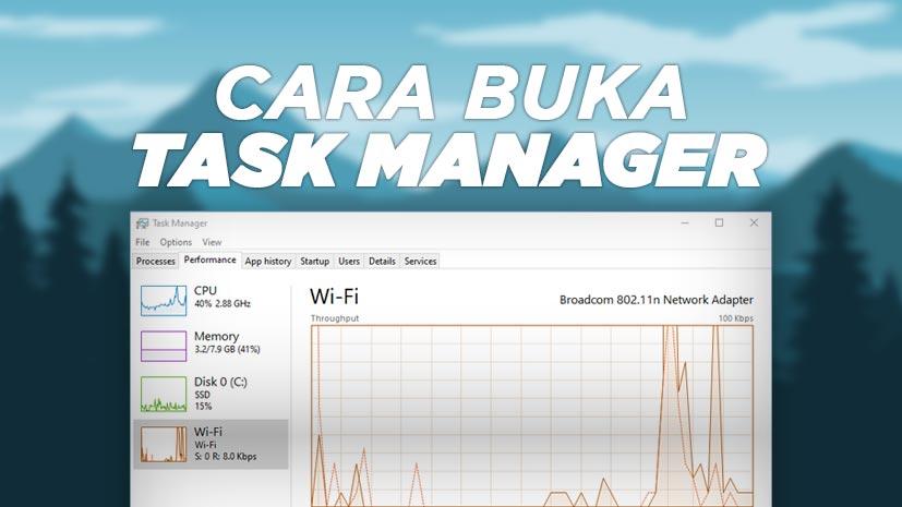Cara Buka Task Manager Windows