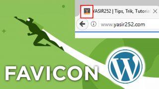 Cara Menambahkan Favicon Wordpress