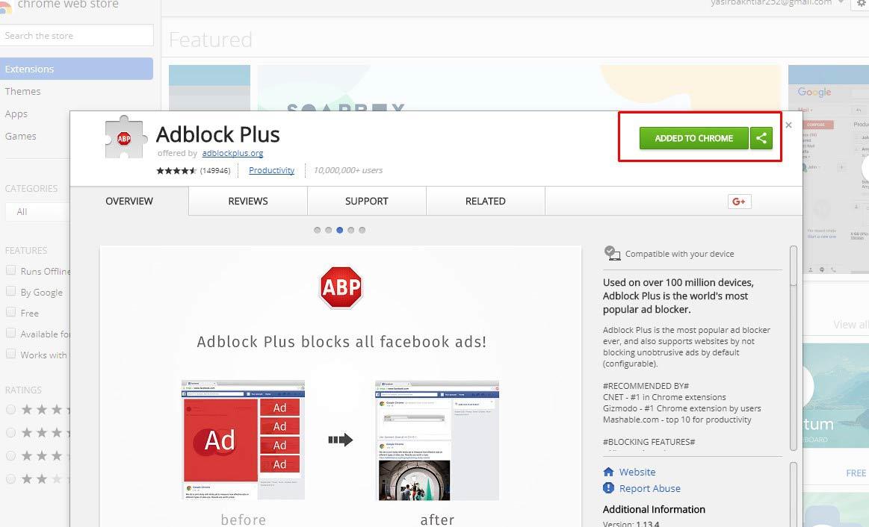 Cara Menghilangkan Iklan di Google Chrome Yasir252