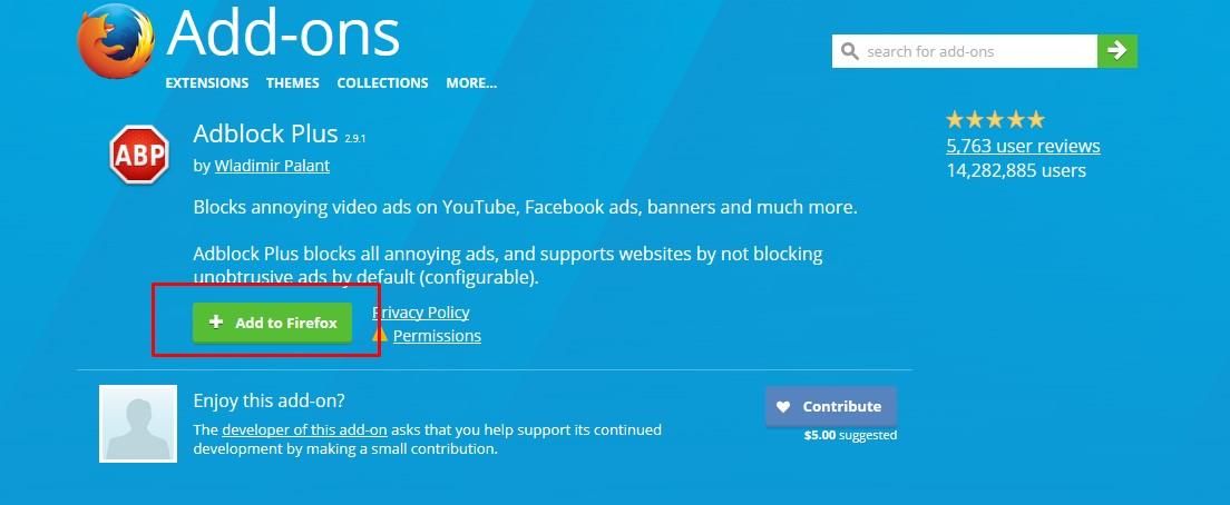 Cara Menghilangkan Iklan di Mozilla Firefox