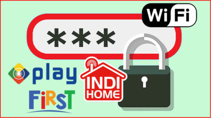 Cara Merubah Password Wifi MNC Indiehome Firstmedia