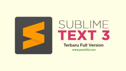 Download Sublime Text 3 Full Version Gratis Crack