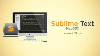Download Sublimte Text 3 MacOSX untuk koding Yasir252