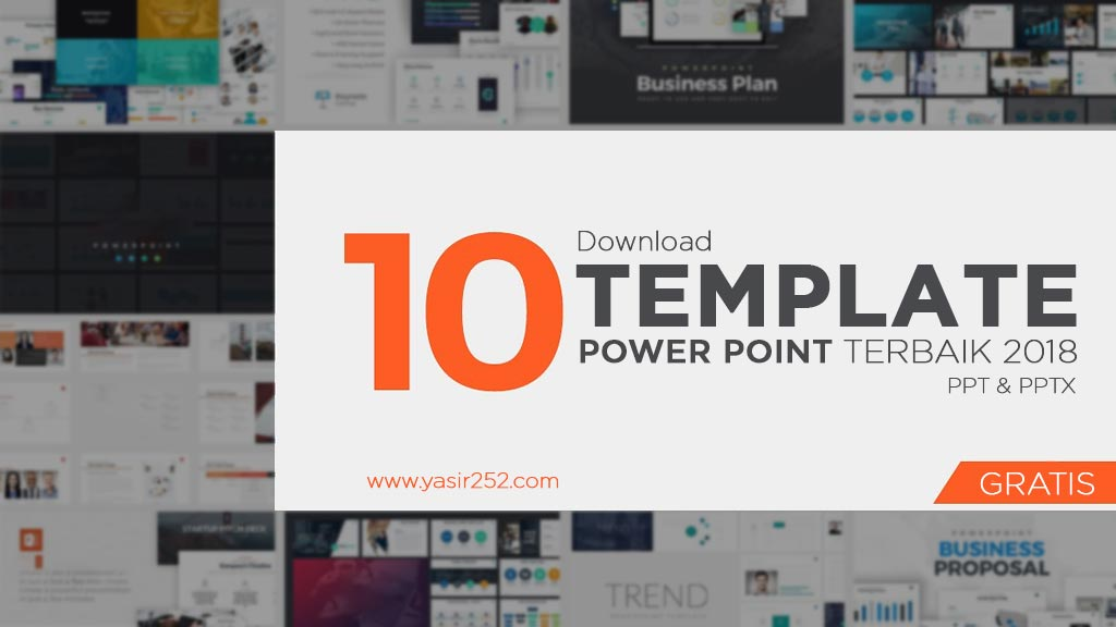 10 template powerpoint gratis keren ppt download yasir252