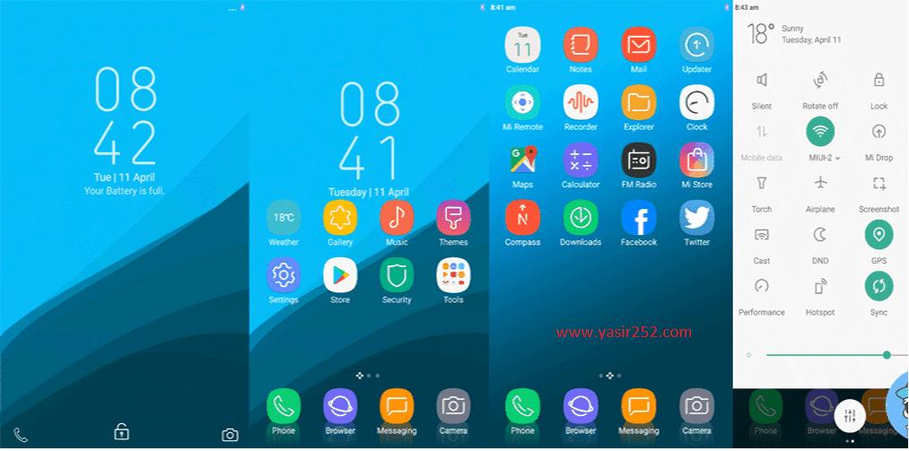 Tema Xiaomi Terbaik