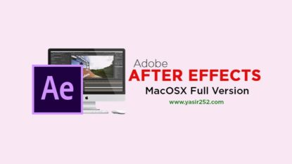 Download After Effects MacOSX Full Version Gratis