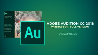 Download Adobe Audition CC 2018 Full Version Windows Crack Yasir252