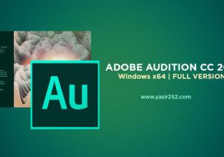 Download Adobe Audition CC 2018 Full Version Windows Crack Yasir252