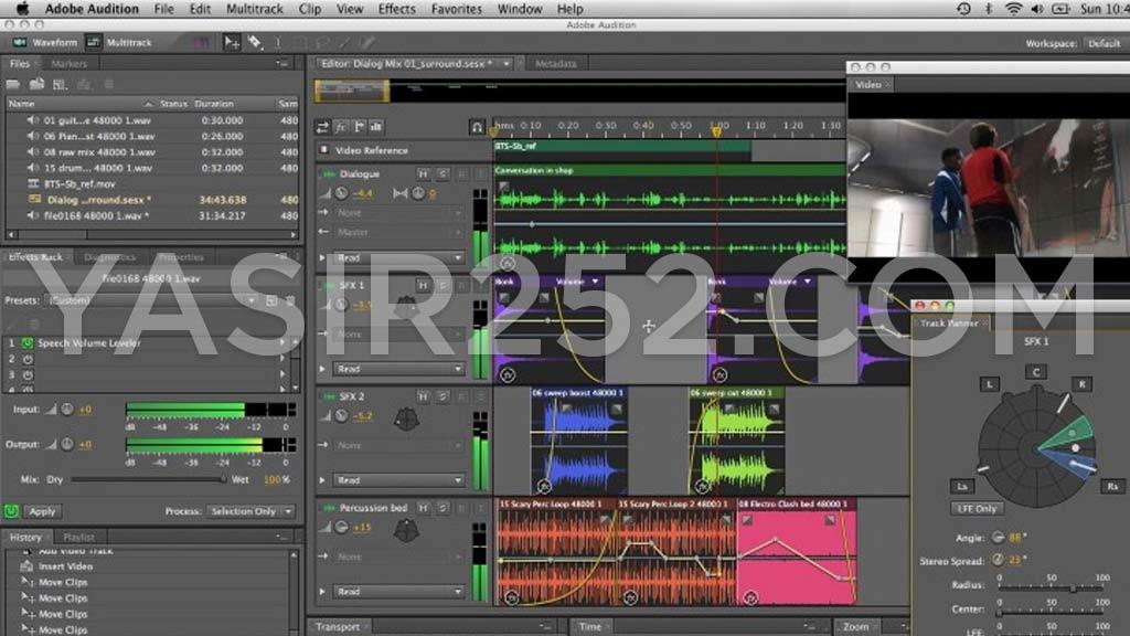 Download Adobe Audition CC 2018 MacOSX Crack Full Version Yasir252
