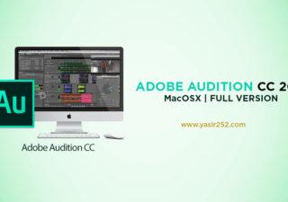 Download Adobe Audition CC 2018 MacOSX Full Version Crack Yasir252