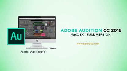 Download adobe audition cc 2018 MacOSX full version crack