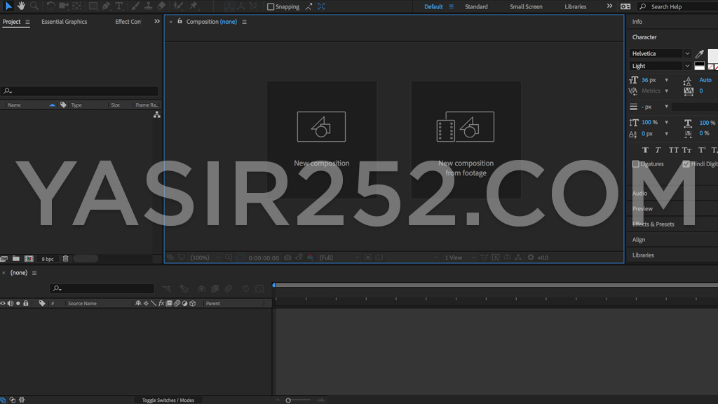 Download Adobe After Effects CC 2018 Full Version Patch Crack Yasir252