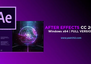 Download After Effects CC 2018 Full Version Patch Crack Yasir252