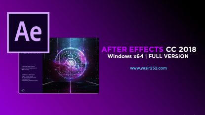 Download After Effects CC 2018 Full Version Gratis Patch Crack Yasir252