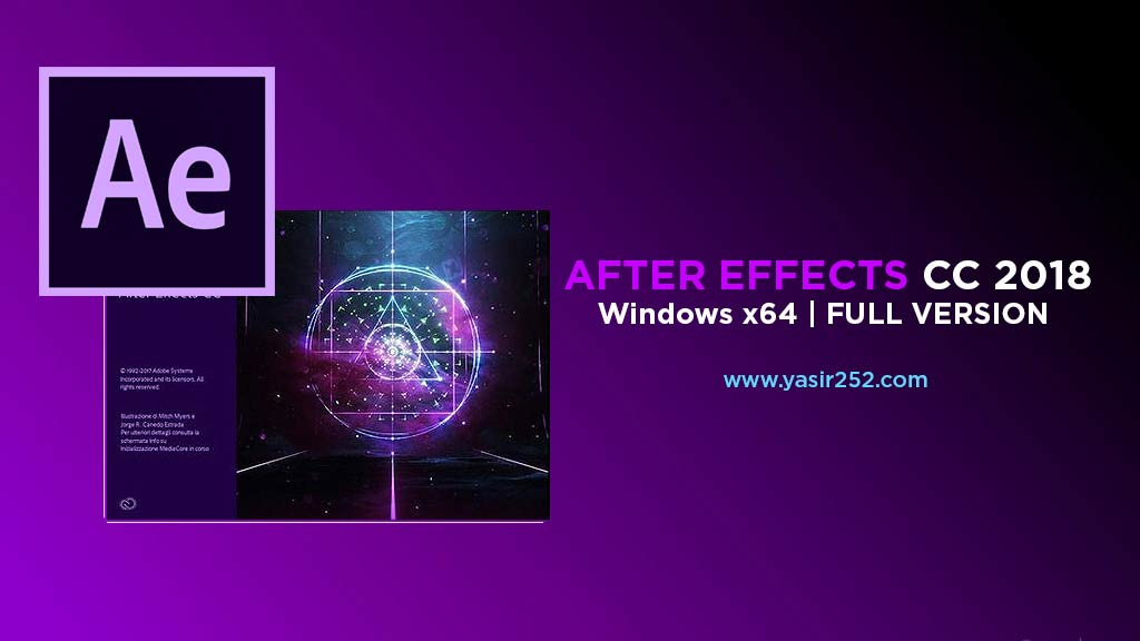 after effects cc 2018 crack only
