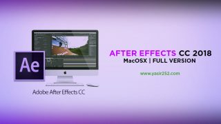 Download After Effects CC 2018 MacOSX Full Version Patch Crack Yasir252