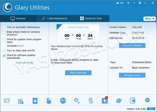 Glary Utilities Full Crack Pro