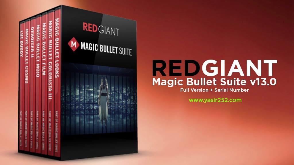 Download Red Giant Magic Bullet Suite 13 Full Serial Yasir252