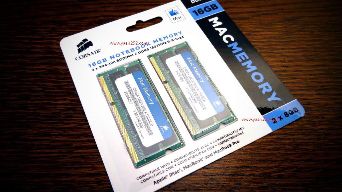Mengatasi Mac Lemot dengan ganti RAM