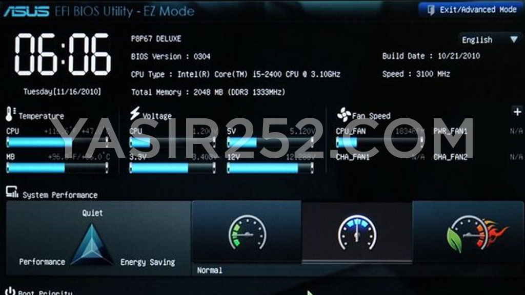 Pengertian UEFI Fungsi Kelebihan UEFI BIOS Yasir252