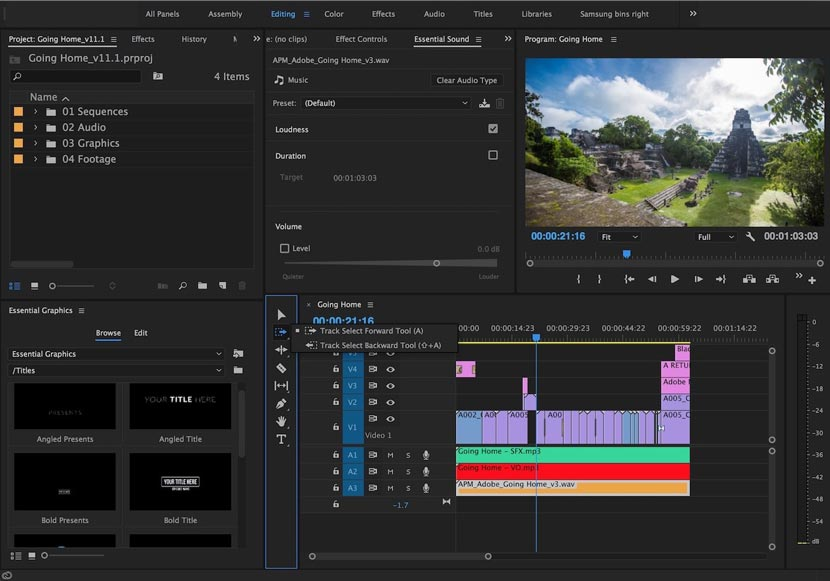 Adobe Premiere Pro CC 2017 Free Download Full Crack