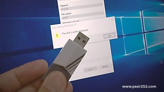 Cara Format Flashdisk di Windows NTFS FAT Yasir252