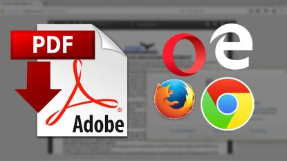 Cara Menonaktifkan PDF Viewer Browser Chrome Firefox Opera Edge Yasir252