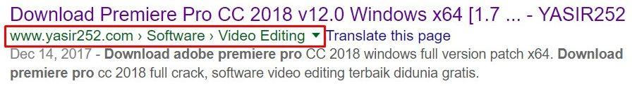Cara Menambahkan Breadcrumbs di WordPress Yasir252